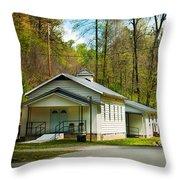 Tip Top Baptist Church Throw Pillow