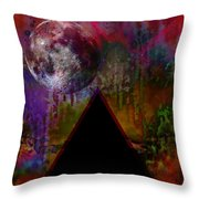 Tipping Point Throw Pillow