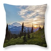 Tipsoo Field Of Summer Throw Pillow