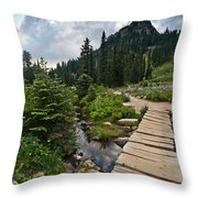 Tipsoo Meadows #2 Throw Pillow