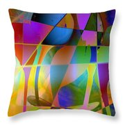 Tipsy Throw Pillow