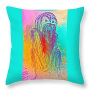 I Am Tired Now But I Will Never Give Up The Battle   Throw Pillow