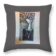 Tired Wiz Hope Throw Pillow