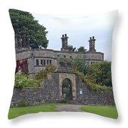 Tissington Hall Throw Pillow