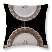 Titanic Makers Mark In China Throw Pillow