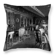 Titanic: Parisian Cafe, 1912 Throw Pillow