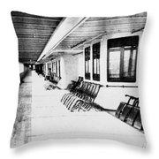 Titanic: Promenade Deck Throw Pillow