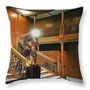 Titanics Grandeur Throw Pillow