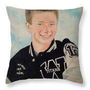 Titans Number 12 Throw Pillow