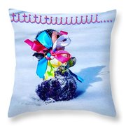 Tititiii Throw Pillow