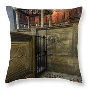 Titus Flavius Clemens Throw Pillow