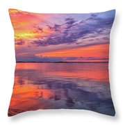Titusville Sunset Throw Pillow