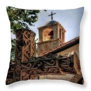 Tlaquepaque Chapel Throw Pillow