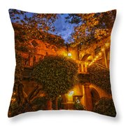 Tlaquepaque Evening Throw Pillow