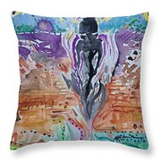 Tlazolteotl, Creative, Absolution And Healing Throw Pillow