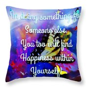 To A Special Friend Throw Pillow