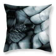 To Be Held Throw Pillow