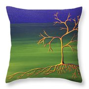 To Become A Seed Again Throw Pillow