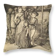 To Caper Nimbly In A Lady's Chamber To The Lascivious Pleasing Of A Lute Throw Pillow