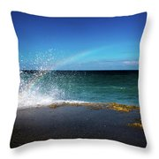 To Catch A Rainbow Throw Pillow