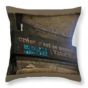 To Create Is To Remember Throw Pillow
