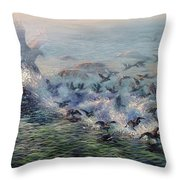 To Find Salvation Throw Pillow