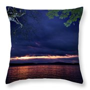 To Flash Or Not Throw Pillow