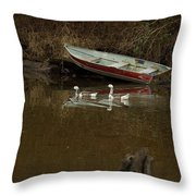 To Float Or Not To Float Throw Pillow