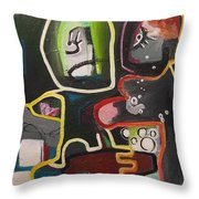 To Get Along Throw Pillow