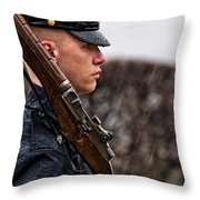 To Guard With Honor Throw Pillow