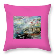 To Heawens Throw Pillow