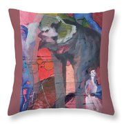 To Jean, The King Of Spain  Throw Pillow