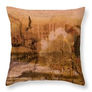 To Live Is To Die Throw Pillow