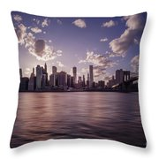 To Reign In Dusk Throw Pillow