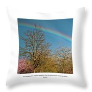 To See The Light Throw Pillow