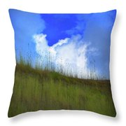 To See The Other Side Of Course Throw Pillow