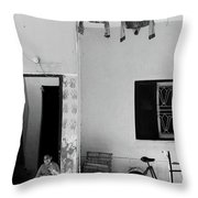 To Shield  Throw Pillow