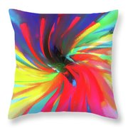 To Spring Up Throw Pillow