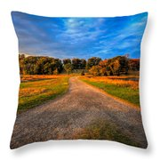 To The End Of The World Throw Pillow