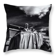 To The Heavens Throw Pillow