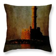 To The Lighthouse Throw Pillow