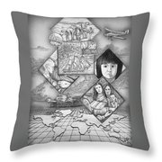 To The Missionfields Throw Pillow