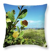 To The Sky Gp Throw Pillow