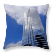 To The Sky Throw Pillow