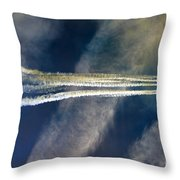 To The Stratosphere Throw Pillow