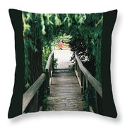 To The Wells Throw Pillow