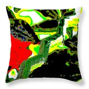To Them It Was Perfectly Ordinary Throw Pillow by Eikoni Images