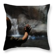 To Want Throw Pillow