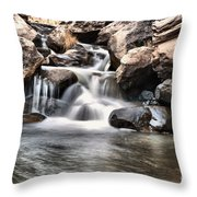 To Watch Calm Water Throw Pillow