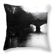 To Where I Flow Throw Pillow